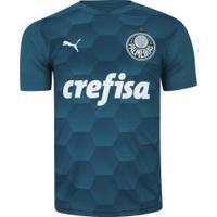 Camisa De Goleiro Do Palmeiras Ii 2020 Puma - Masculina - Azul