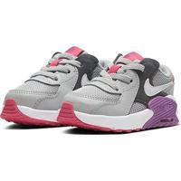 Tênis Infantil Nike Air Max Excee Td - Unissex-Cinza+Roxo