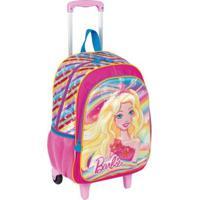 Mochila Barbie Infantil - Feminino-Rosa