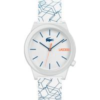 Relógio Lacoste Masculino Borracha Branca - 2010956