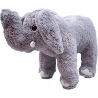Pelúcia Minas De Presentes Elefante Cinza - Kanui