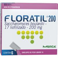 Floratil Pediátrico Merck 6 Envelopes