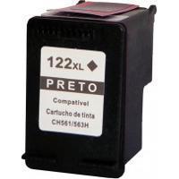 Cartucho Compatível Hp 122Xl Black - Hp 2050 Hp 3050 Hp 1000 Com 12 Ml