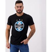 Camiseta Grêmio Costura Masculina - Masculino