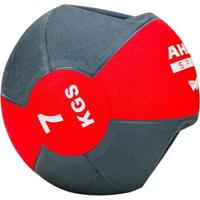 Medicine Ball Com Manopla Ahead Sports 7Kg - Unissex