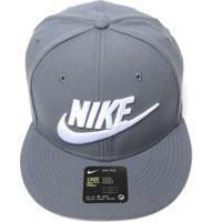 Boné Nike Sportswear True Futura Cinza