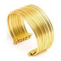 Bracelete Vestopazzo Multi Arcos Feminino - Feminino-Dourado
