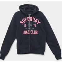Blusa Moletom City Lady Plus Size Superday Feminina - Feminino