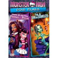 Dvd Monster High - Choques De Cultura E Fuga Da Ilha Do Esqueleto Paramount Preto