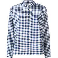 Ymc Camisa Xadrez - Azul