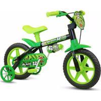 Bicicleta Bicicleta Infantil Aro 12 Black Nathor - Unissex