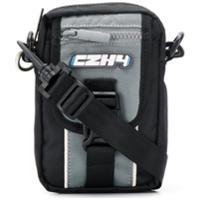 C2H4 Bolsa Para Câmera Com Logo - Preto