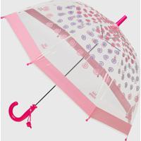 Guarda Chuva Infantil Kidsplash! Rosa/Pink/Lilás - Tricae