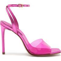 Sandália Vinil Full Color Pink | Schutz