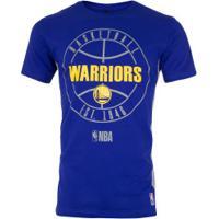 Camiseta Nba Golden State Warriors Especial - Masculina - Azul/Cinza