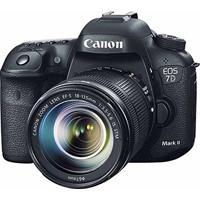 Câmera Canon Eos 7D Mark Ii Dslr Com Lente 18-135Mm