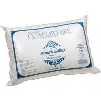 Travesseiro Americanflex Confortare 17 Cm De Altura - Branco
