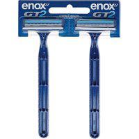 Aparelho De Barbear Enox Gt2 Descartável 2 Unidades