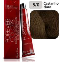 Coloração 5-0 Castanho Claro Natural Forever Colors 50G