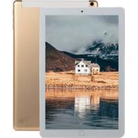 Tablet 10.1 Polegadas Ram 8Gb + 128Gb 4G-Lte Tela Ips Hd - Dourado