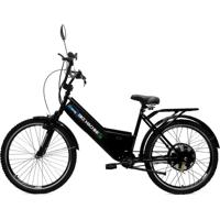 Bicicleta Elétrica Machine Motors Basic 800W 48V Preto