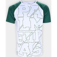Camiseta Palmeiras Raglan Masculina - Masculino