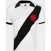 Camiseta Vasco Retrô 1971 Dinamite Nº15 Masculina - Masculino-Branco
