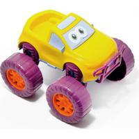 Carrinho Baby Pick - Up - Samba Toys - Amarelo
