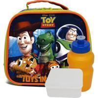 Lancheira Infantil Toy Story 30437 Masculina - Masculino-Azul