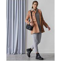 Amaro Feminino Trench Coat London Breeze, Camel