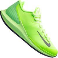 Tênis Nike Court Air Zoom Zero Hc - Masculino - Verde Cla/Azul Esc