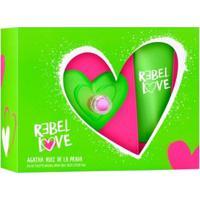 Kit 1 Rebel Love Agatha Ruiz De La Prada Eau De Toilette 80Ml + 1 Body Lotion 75Ml - Feminino-Incolor