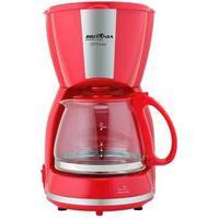 Cafeteira Elétrica Britânia Cp15 Inox, 15 Xícaras, 550W, 110V, Vermelho/Inox - 63901081