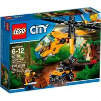Lego City - Helicóptero De Carga Da Selva - 60158