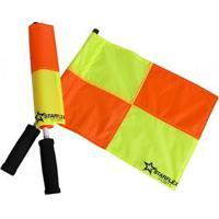 Bandeira De Arbitro Starflex Nylon Par - Unissex