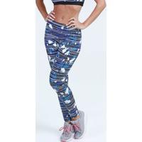 Calça Feminina Legging Fitness Estampada Marisa
