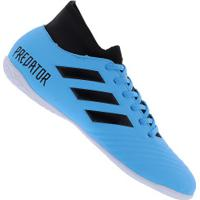 Chuteira Futsal Adidas Predator 19.4 S Ic - Adulto - Aqua