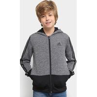 Jaqueta Adidas Yb Gu Fz Hoodie C/ Capuz Infantil - Masculino