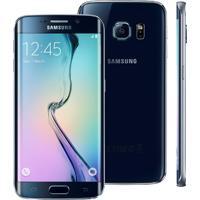 """Smartphone Samsung Galaxy S6 Edge Preto - 64Gb - 4G Lte - Octa Core - Câmera 16Mp - Super Amoled 5.1"""" - Android 5.0"""