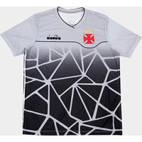 Netshoes  Camisa Vasco Treino 2018 Diadora Masculina - Masculino 59fe8ee011a37