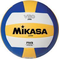 Bola De Volêi De Praia Mikasa Vso2000 - Unissex