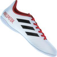 Chuteira Futsal Adidas Predator Tango 18.4 In - Adulto - Preto/Branco