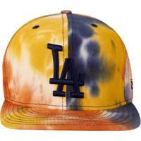 Boné New Era 950 Mlb Color Denim Los Angeles Dodgers - Feminino