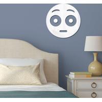 Espelho Decorativo Emoji Envergonhado