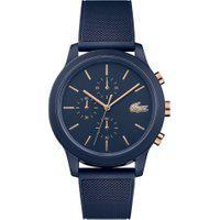 Relógio Lacoste Masculino Borracha Azul - 2011013
