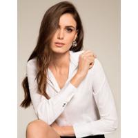 Camisa Social Branca Personalizada