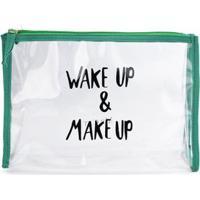 Necessaire Make Up Verde/Un