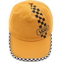 Boné Vans Checked Top Hat Amarelo