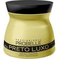 Máscara Matizadora Probelle Preto Luxo 250G - Unissex-Incolor