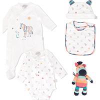 Paul Smith Junior Zebra Babywear Set - Branco